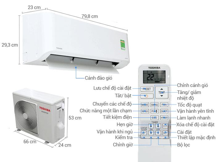 Ở máy lạnh Toshiba có sử dụng những công nghệ gì mới