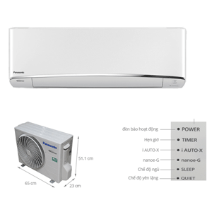 Máy lạnh Panasonic 1 ngựa tiết kiệm điện nhất