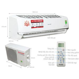 Máy lạnh Sharp có tốt không, mua hàng chính hãng giá rẻ ở đâu