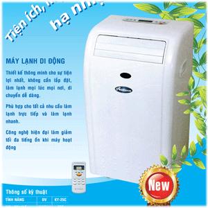 Nên sử dụng máy lạnh di động hay máy lạnh cố định