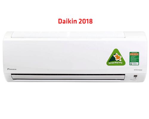 Máy lạnh điều hòa Daikin mới nhất năm 2018