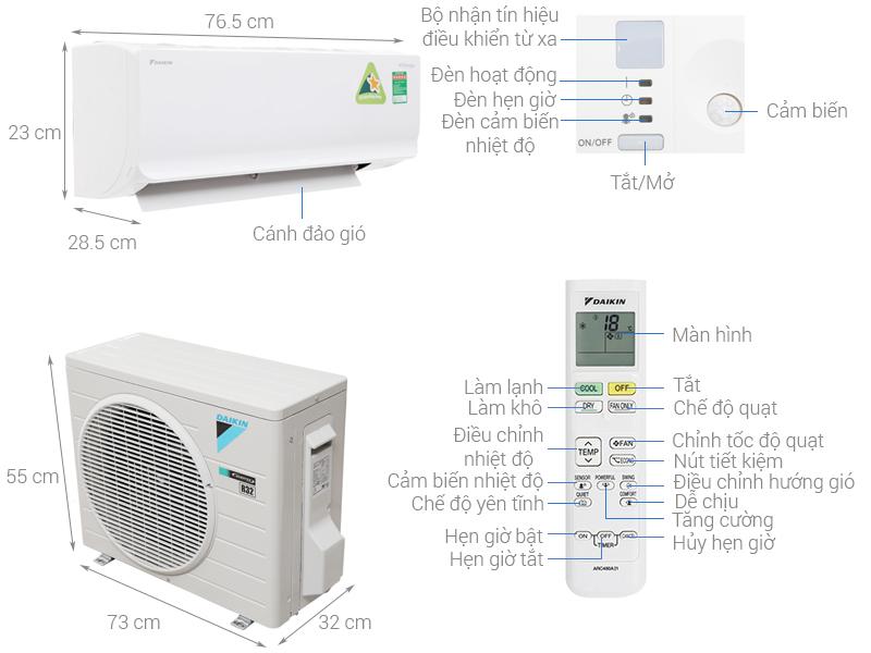 Các nhãn hiệu máy lạnh tốt, tiết kiêm điện nhất
