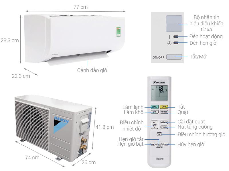 Máy lạnh Sharp Inverter tiết kiệm điện năng hiệu quả