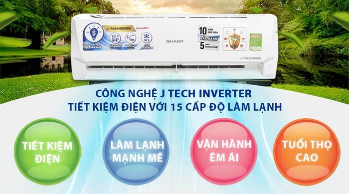 Dịch vụ đổi máy lạnh sharp cũ lấy máy mới 2018