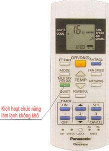 May lanh Panasonic TS9PKH-8