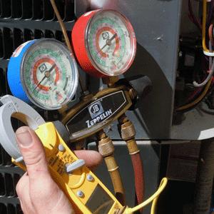 Kiểm tra lượng môi chất trong máy lạnh