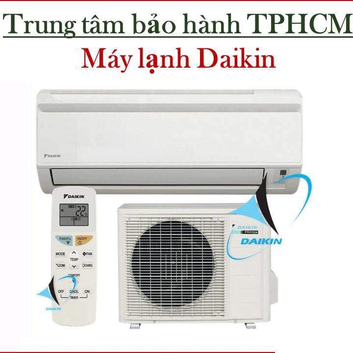 Các trung tâm bảo hành máy lạnh Daikin tại TPHCM