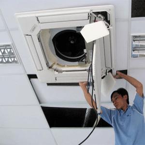 Để máy lạnh/máy điều hòa không khí làm việc hiệu quả