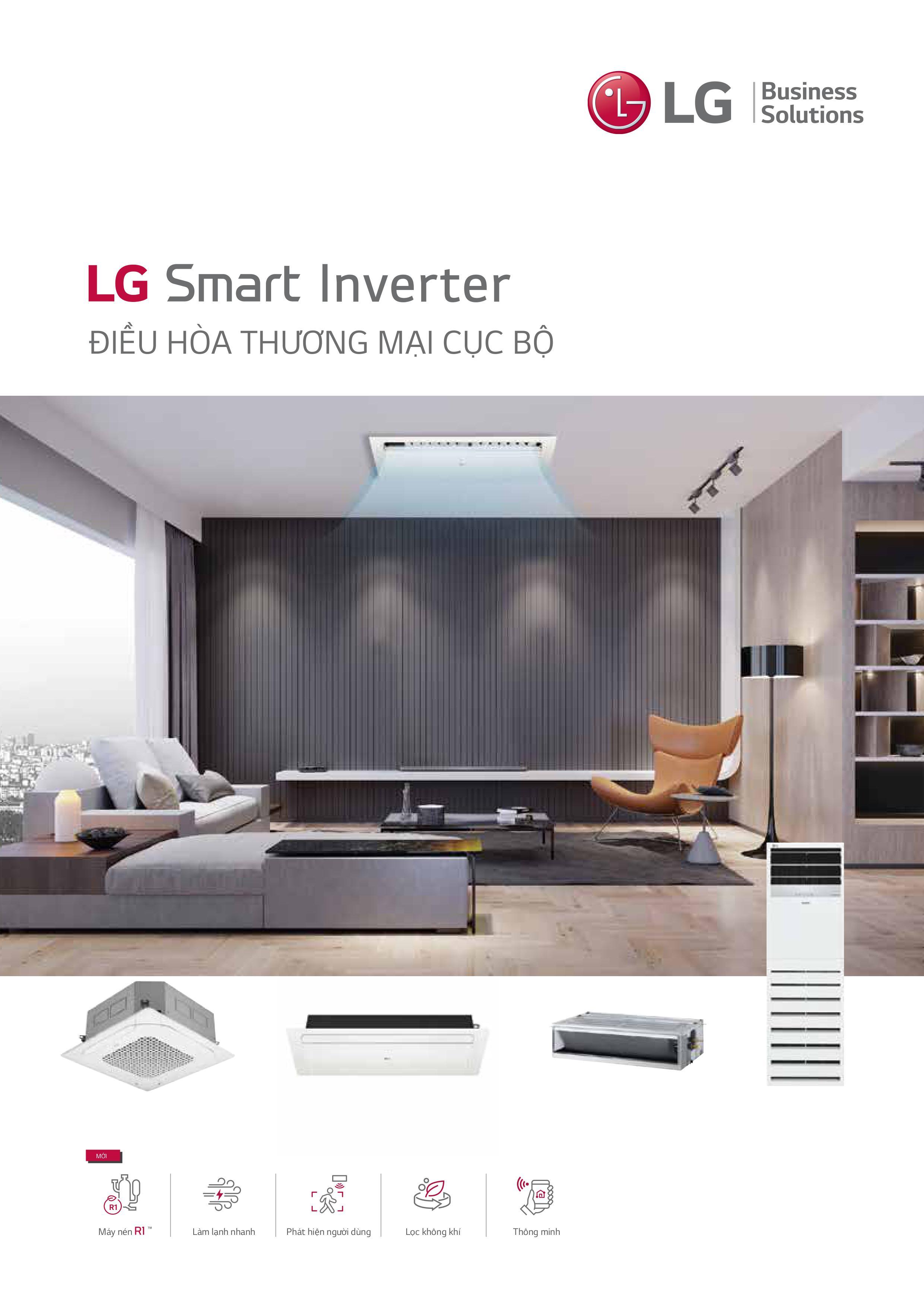 Máy điều hòa LG smart Inverter Multi