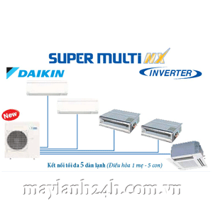 Máy Lạnh Daikin Super Multi NX inverter Gas R410A