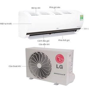 Máy lạnh LG inverter 1Hp, và 1.5Hp giá bao nhiêu