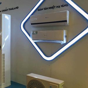 Máy lạnh treo tường có trao đổi không khí với bên ngoài không