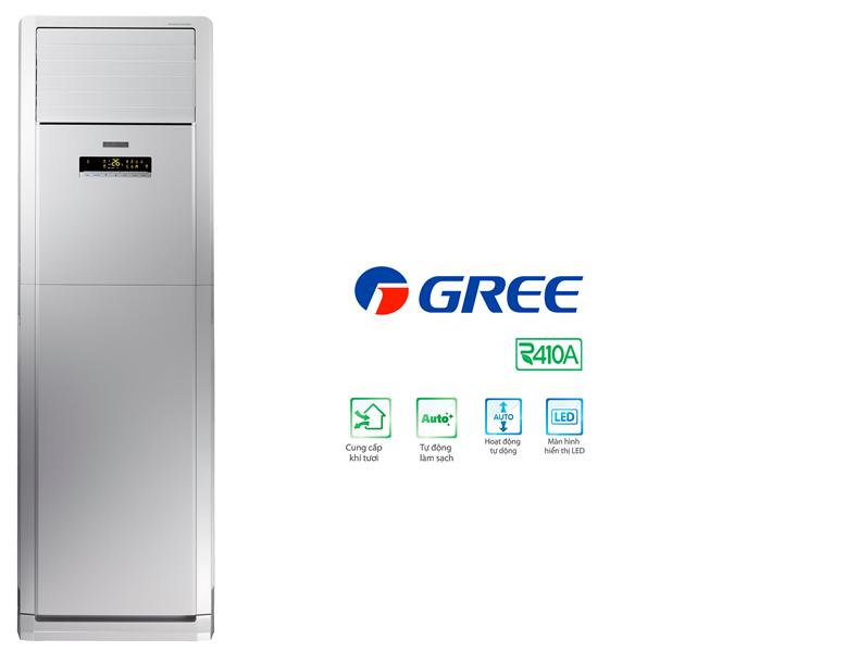 Máy Lạnh Tủ Đứng Gree GVC18AG 2 Ngựa (2Hp)