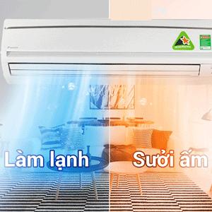 Nguyên lý hoạt động của máy lạnh 1 chiều, 2 chiều