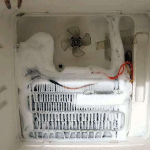 Nguyên nhân gây đóng tuyết ở tủ lạnh, máy lạnh và biện pháp khắc phục