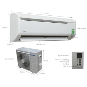 Những hư hỏng thường gặp ở Máy lạnh Daikin